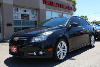 Used 2012 Chevrolet Cruze LTZ Turbo Leather. Roof. 17 Inch Alloys for sale in North York, ON