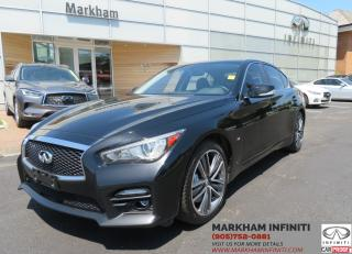 Used 2015 Infiniti Q50 Sport AWD, Camera, Leather, Sunroof,Bose for sale in Unionville, ON