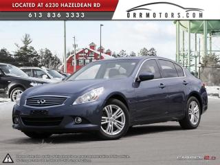 Used 2011 Infiniti G37 X G37x AWD for sale in Ottawa, ON