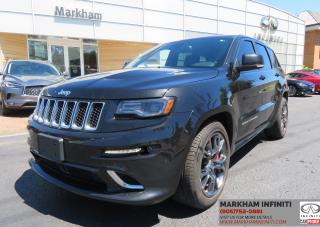Used 2016 Jeep Grand Cherokee SRT Navi , Camera, Leather, Sunroof, BSM for sale in Unionville, ON