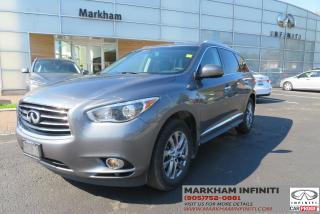 Used 2015 Infiniti QX60 Leather, Sunroof, Backup Camera for sale in Unionville, ON