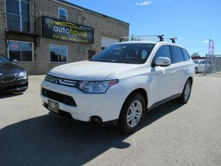 Used 2014 Mitsubishi Outlander SE 7 PASS,4x4 ,4WINTER TIRE/4SUMMER TIRE for sale in Newmarket, ON