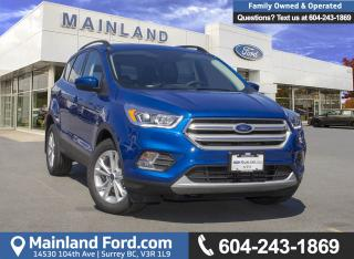 New 2018 Ford Escape SEL for sale in Surrey, BC