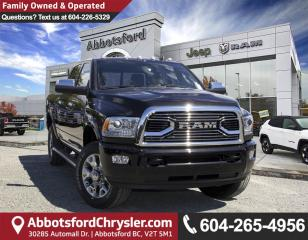 New 2018 RAM 3500 Longhorn for sale in Abbotsford, BC