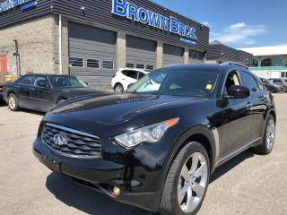 Used 2011 Infiniti FX50 ACCIDENT FREE, AWD, LTHR, NAVI, M/ROOF for sale in Surrey, BC