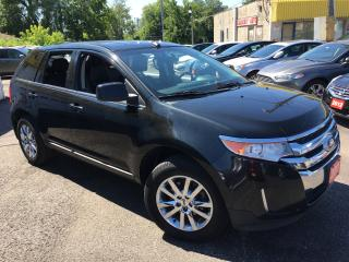 Used 2011 Ford Edge LTD/AWD/NAVI/REVERSE CAM/ ALLOYS/ FULLY LOADED! for sale in Scarborough, ON