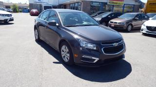 Used 2016 Chevrolet Cruze LT/SUNROOF/BACKUP CAMERA/IMMACULATE$14500 for sale in Brampton, ON