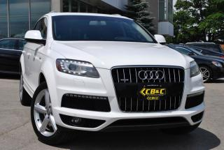 Used 2011 Audi Q7 S-LINE / 7 PASS / NAV / BT / NO ACCIDENT! for sale in Oakville, ON