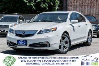 Used 2012 Acura TL Tech Pkg SH AWD NAVI Backup Cam Sun Roof for sale in Scarborough, ON