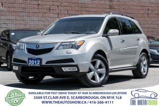Used 2012 Acura MDX Tech NAVI DVD RearviewCam Bluetooth SERVICE RECORD for sale in Scarborough, ON