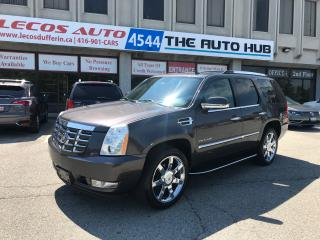 Used 2010 Cadillac Escalade Luxury Package/TV/Backup Cam/Bluetooth for sale in North York, ON