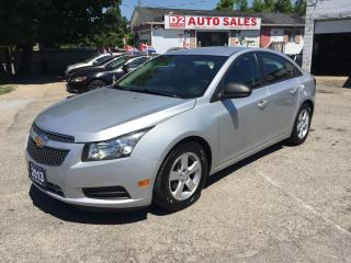 Used 2013 Chevrolet Cruze Automatic/Super Gas Saver/Certified for sale in Scarborough, ON