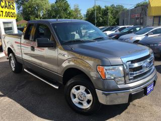 Used 2013 Ford F-150 XLT/ 4X4/ SUPERCAB/ ALLOYS/ SIDE STEP BARS/ LOADED for sale in Scarborough, ON