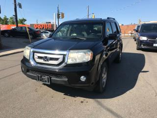 Used 2009 Honda Pilot EX-L auto/cam/leath/7pass/noaccid/certified for sale in York, ON