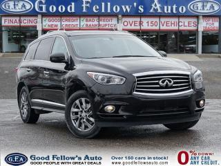 Used 2014 Infiniti QX60 PREMIUM MODEL, 7 PASSENGER, LEATHER SEATS, SUNROOF for sale in North York, ON