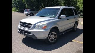 Used 2004 Honda Pilot EX-L leath 4wd 8pass certified for sale in York, ON