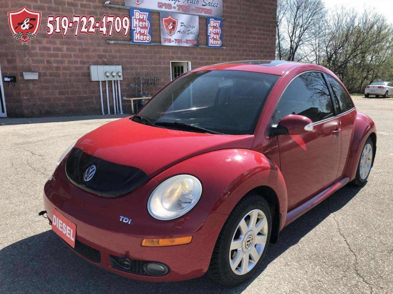 2006 Volkswagen Beetle TDI/DIESEL/ONE OWNER/NO ACCIDENT/CERTIFIED
