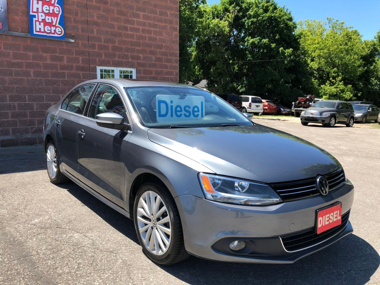 2013 Volkswagen Jetta TDI/DIESEL/NO ACCIDENT/CERTIFIED/WARRANTY INCLUDED