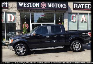 Used 2010 Ford F-150 LARIAT*4X4*SUNROOF*PWR GRP*BTOOTH*LEATHER!!* for sale in York, ON