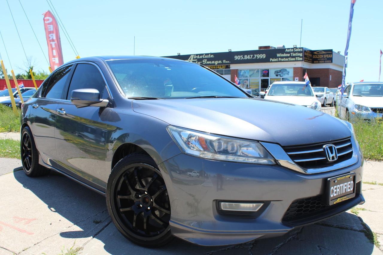 2013 Honda Accord Touring Manual-NAVI-REAR CAM-LEATHER