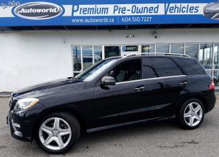 Used 2015 Mercedes-Benz ML 350 ML 350 BlueTEC for sale in Langley, BC