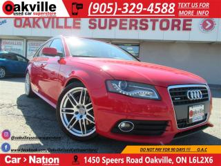 Used 2011 Audi A4 2.0T Prem S-Line   PANO ROOF   LEATHER   HTD SEATS for sale in Oakville, ON