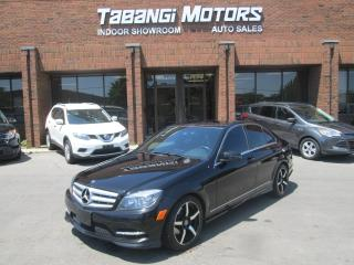 Used 2011 Mercedes-Benz C250 4MATIC | NAVIGATION | PUSH START | CAMERA | PANO ROOF for sale in Mississauga, ON