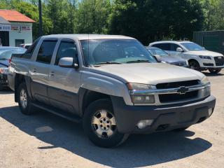 Used 2004 Chevrolet Avalanche No-Accidents 1500 Crew Cab Z66 Power Group for sale in Newmarket, ON