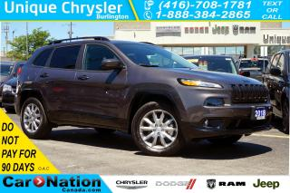 Used 2018 Jeep Cherokee NORTH SPECIAL EDITION| NAV| REMOTE STARTER for sale in Burlington, ON