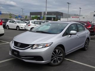 Used 2015 Honda Civic Sedan EX for sale in Richmond, BC