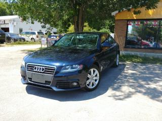 Used 2009 Audi A4 for sale in Barrie, ON