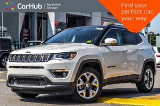 New 2018 Jeep Compass New Car Limited 4x4|Safety&Sec.,Adv.Safety&LightingPkgs|PanoSunroof| for sale in Thornhill, ON