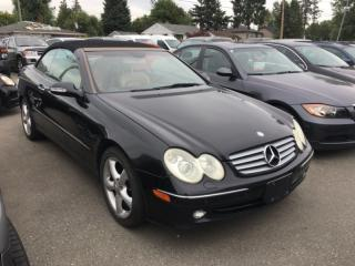 Used 2005 Mercedes-Benz CLK 2dr Cabriolet 3.2L for sale in Surrey, BC
