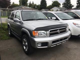 Used 2003 Nissan Pathfinder SE 4WD Auto for sale in Coquitlam, BC