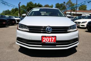 Used 2017 Volkswagen Jetta Wolfsburg Edition SUNROOF ALLOYS ACCIDENT FREE for sale in Brampton, ON