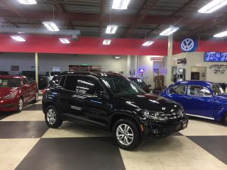 Used 2015 Volkswagen Tiguan 2.0TSI 6SPEED A/C CRUISE REAR CAMERA H/SEATS 103K for sale in North York, ON