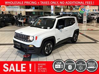 Used 2018 Jeep Renegade Sport FWD for sale in Richmond, BC