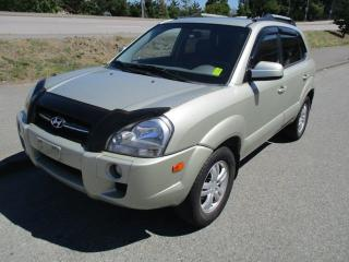 Used 2006 Hyundai Tucson GL for sale in Surrey, BC