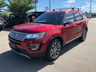 Used 2016 Ford Explorer Platinum for sale in Langley, BC