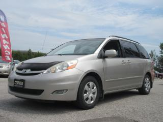 Used 2008 Toyota Sienna CE / ACCIDENT FREE / VERY CLEAN VEHICLE for sale in Newmarket, ON