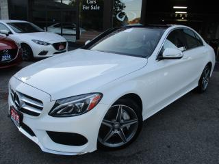 Used 2015 Mercedes-Benz C 300 4MATIC-NAV-CAM-PANOR-LTHER-LOAED for sale in Scarborough, ON