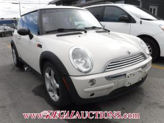Used 2003 MINI COOPER BASE 2D HATCHBACK for sale in Calgary, AB