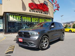 Used 2014 Dodge Durango R/T NAVI P-ROOF 7 PASS R-CAM AUTO START BLIND SPOT for sale in Scarborough, ON