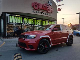 Used 2018 Jeep Grand Cherokee SRT PANOROOF TRAILER TOW BLK WHEELS for sale in Scarborough, ON