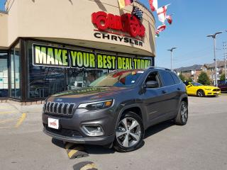 Used 2019 Jeep Cherokee Limited MEMORY SEAT PUSH START FUEL SAVER for sale in Toronto, ON