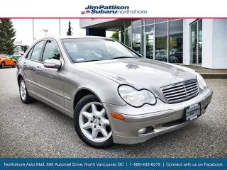 Used 2003 Mercedes-Benz C-Class Low KM! Affordable Luxury! for sale in Surrey, BC