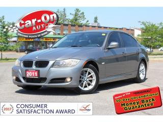 Used 2011 BMW 323i i LEATHER SUNROOF HTD SEATS ONLY 75,000KM for sale in Ottawa, ON