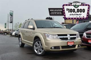 Used 2010 Dodge Journey R/T - AWD, remote start, sunroof, bluetooth, heate for sale in London, ON