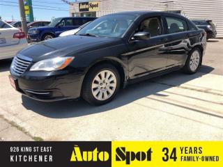 Used 2013 Chrysler 200 LX/ LOW, LOW KMS/PRICED -QUICK SALE! for sale in Kitchener, ON