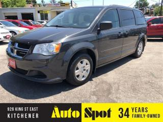Used 2011 Dodge Grand Caravan SE/BACK UP CAMERA/STOW & GO/PRICED-QUICK SALE! for sale in Kitchener, ON